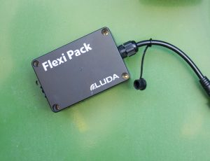 luda.farm: picture of FlexiPack on green packground