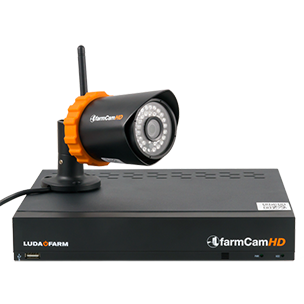 How to install a wireless WiFI camera | Luda Farm