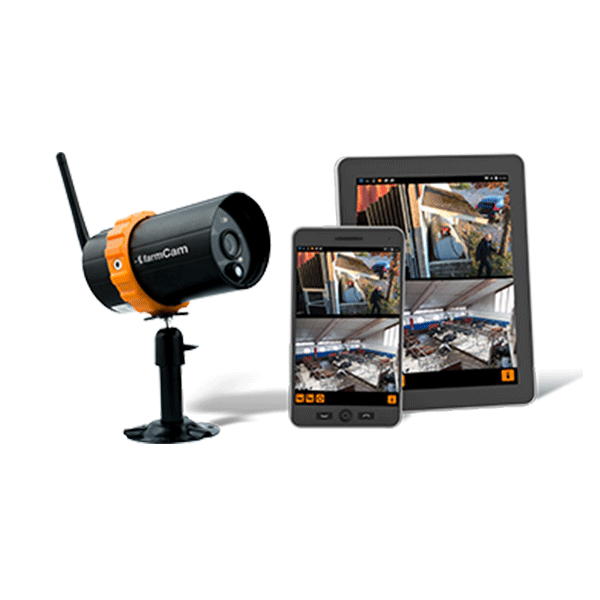 FarmCam Ip camera and tablets