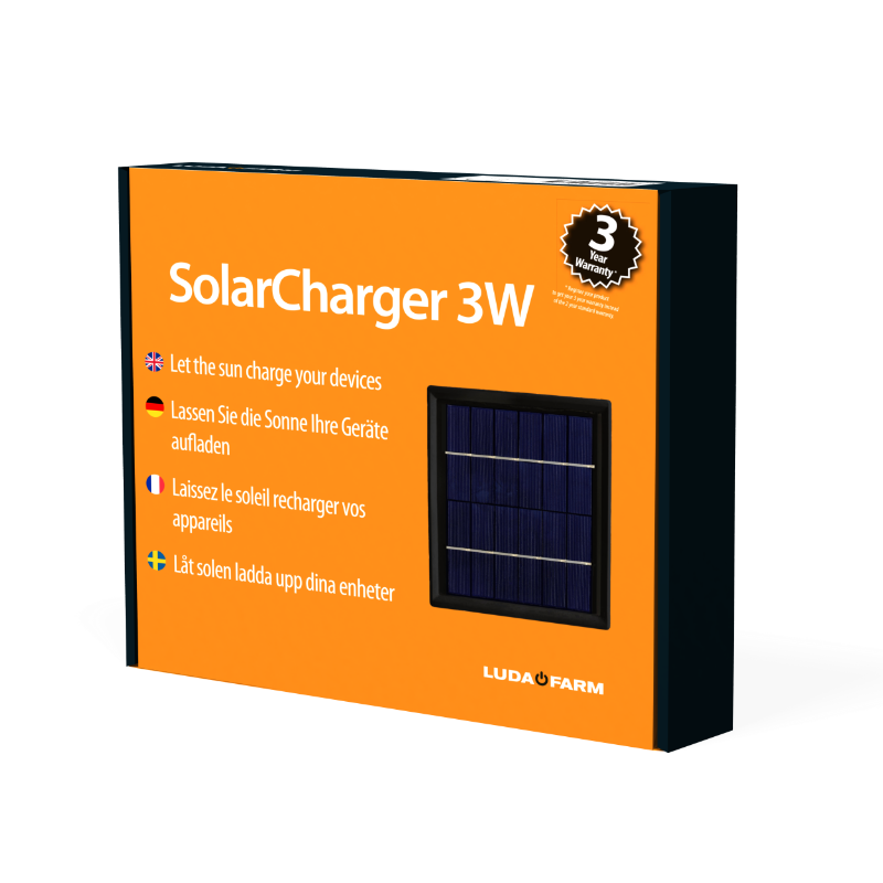 Packaging for SolarCharger
